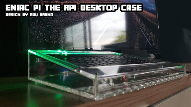 ENIAC PI el ordenador con Raspberry Pi de nuestro amigo Arana