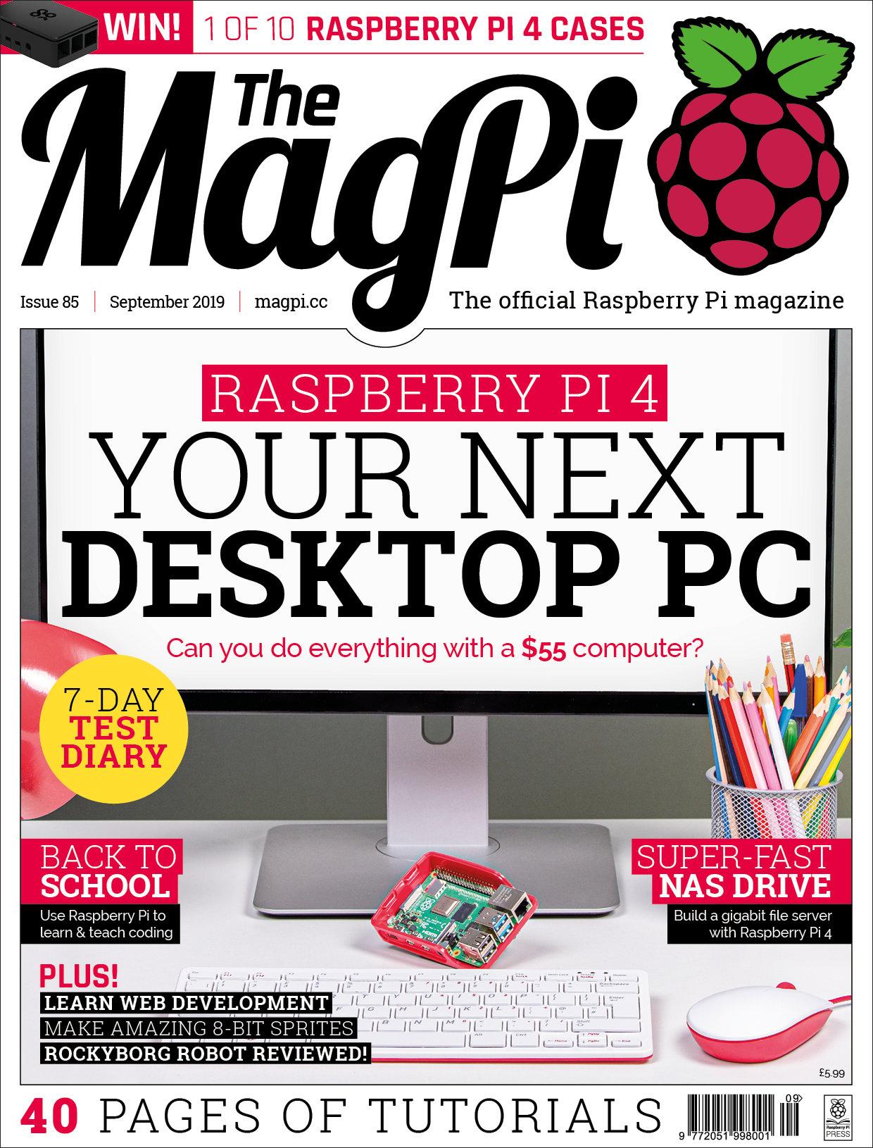 Revista The MagPi Septiembre 2019