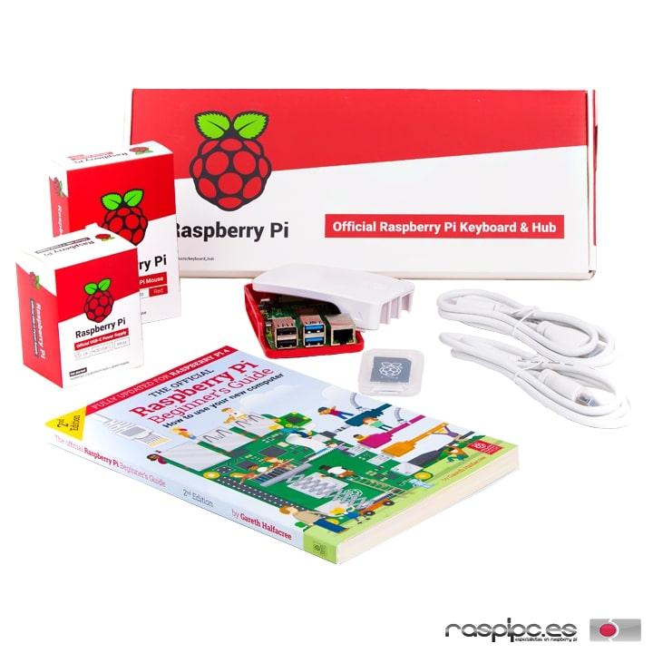 Raspberry Pi 4 Computer Desktop Kit