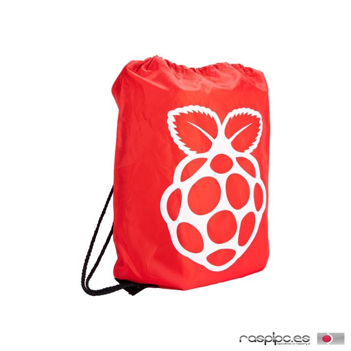 mochila cordones raspberry pi