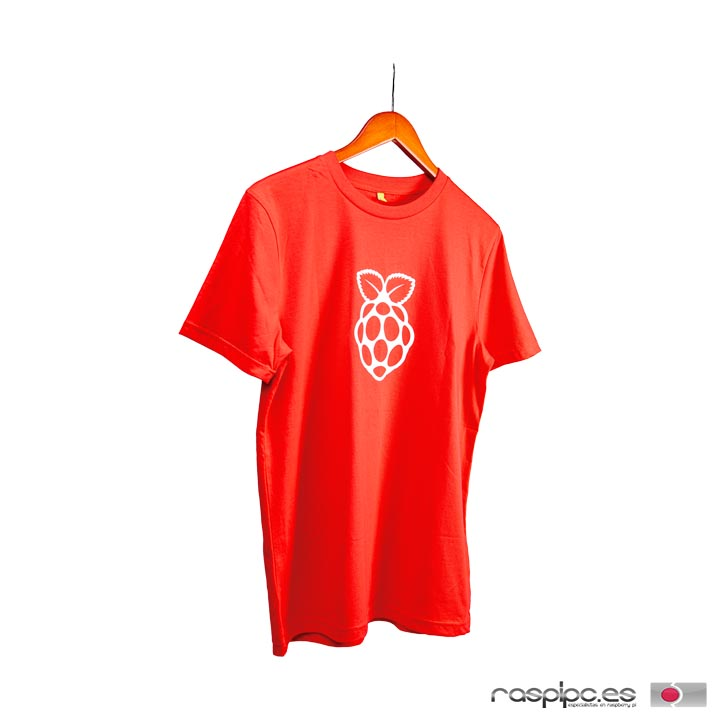 camiseta raspberry pi
